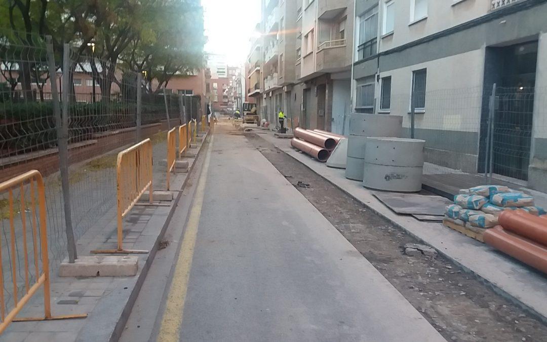 Renovació de la xarxa de sanejament del C/ Àngel Guimerà de Reus