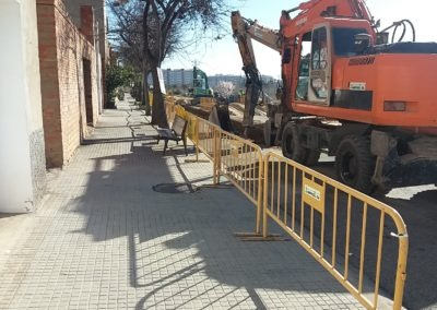 Renovación de la red de saneamiento y pluvial de la urbanización Sol i Vista