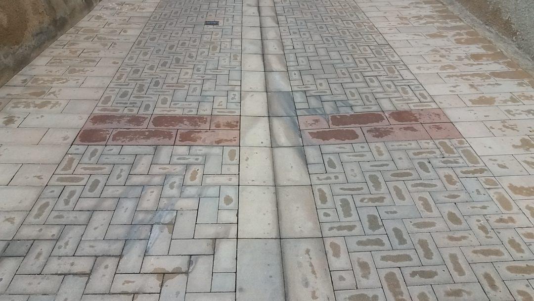 Pavimentación del Carrer Nou de Masriudoms