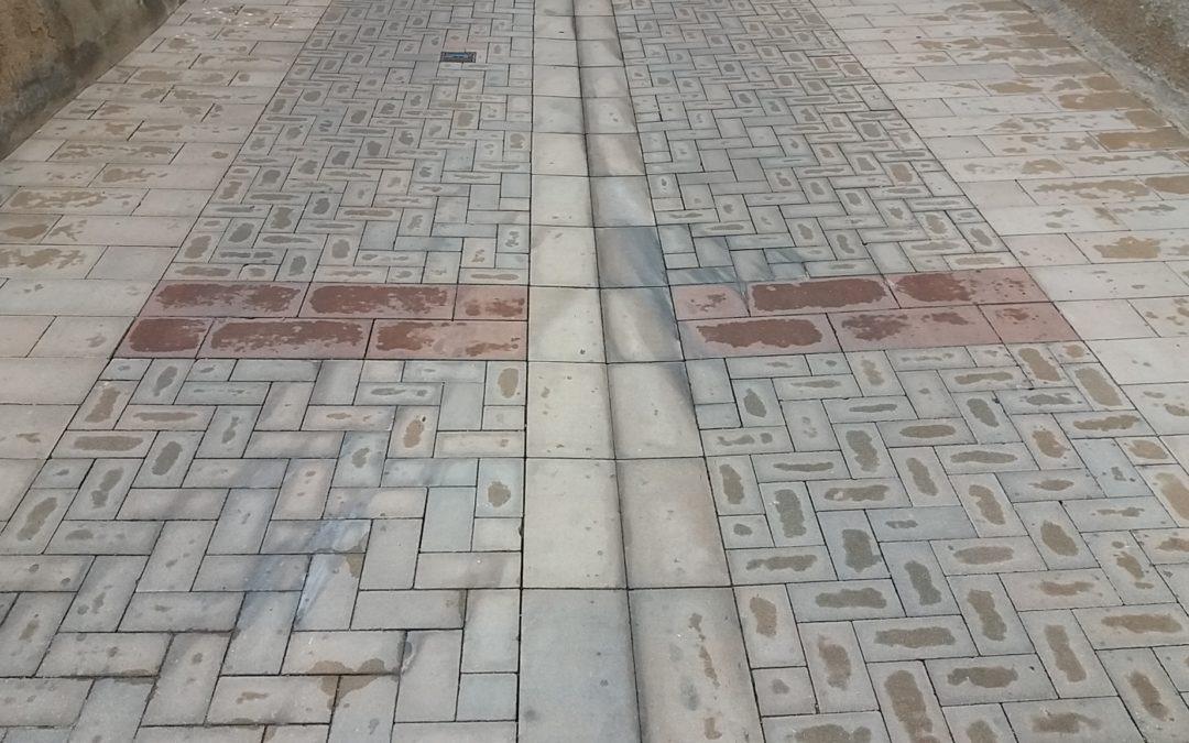 Pavimentació del Carrer Nou de Masriudoms