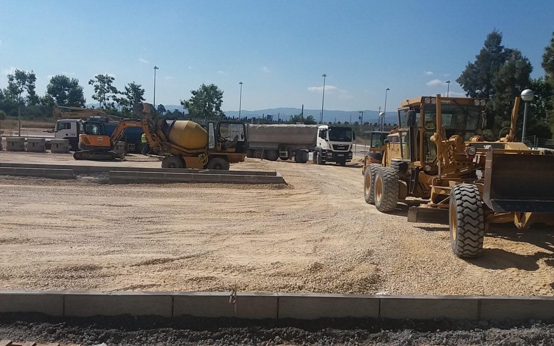 Adecuación y pavimentación del solar municipal en aparcamiento, ubicado entre el carrer de Reus y l'Avinguda de la Generalitat