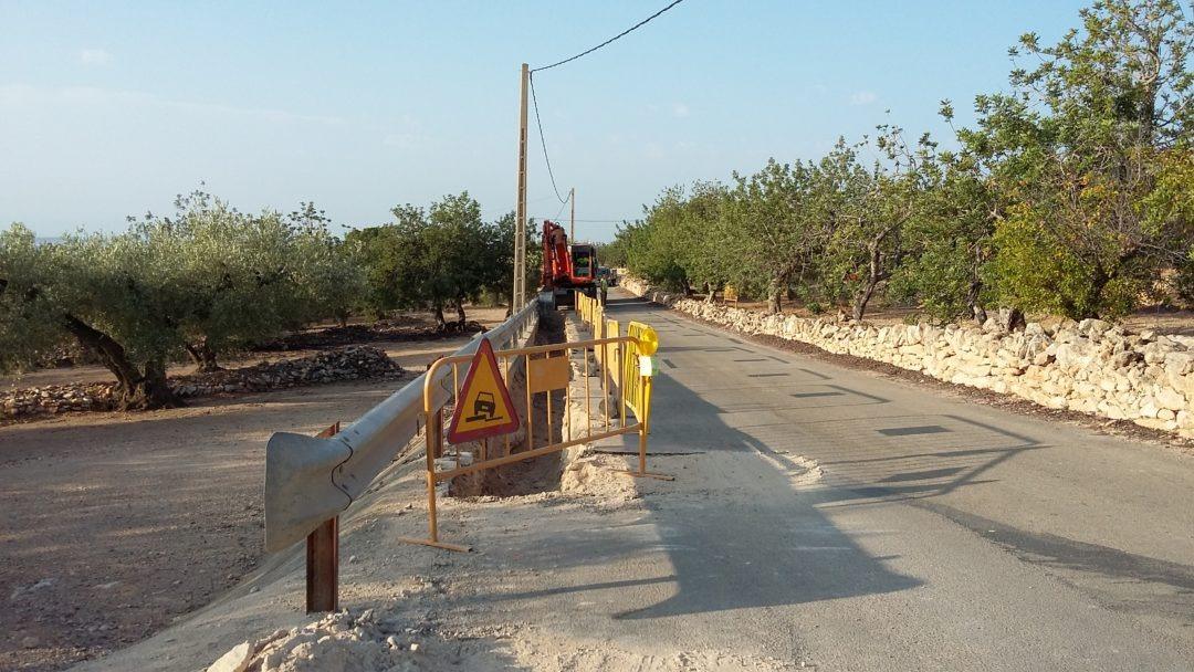 Renovació de la conducció del ramal del Perelló. Tram: Conducció principal (PAT02)